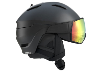 Salomon Helm Driver+ Photo Bk/All Wheater Skihelm