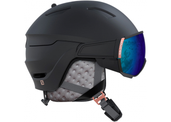 Salomon Mirage+ Photo Bk/Rose Gold AW Skihelm