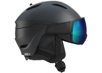 Salomon Helm Driver S black/ Univ Skihelm