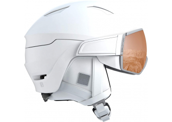 Salomon Helm Mirage S white/universal Skihelm