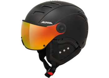 Alpina Jump 2.0 QVMM black matt Skihelm