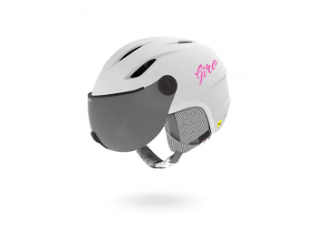 Giro Buzz MIPS Youth Snow mat white Skihelm