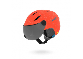 Giro Buzz MIPS Youth Snow mat Vrmln rc Skihelm