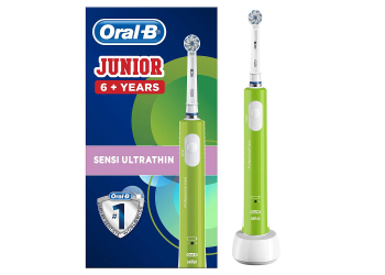 Oral-B Junior green elektrische Kinderzahnbürste