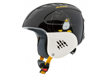 Alpina Carat black-pinguin Kinderhelm 48-52cm