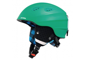 Alpina Grap 2.0 cold-green matt  Skihelm 54-57cm