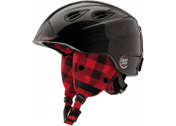 Alpina Grap 2.0 JR black-lumberjack Kinderskihelm