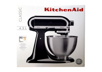 KitchenAid 5K45SSEOB black Küchenmaschine