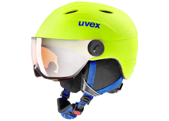 Uvex jun.vis.pro neon yellow mat Kinder Skihelm 52-54 cm