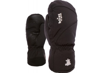 Level Bliss Mummies Mitt Black Damenskihandschuhe 6,5