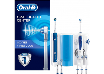 Oral-B Center Oxyjet + Pro 2000 Mundpflegecenter