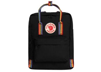 Fjällräven Kanken Rainbow Mini F23561-550-907 Black Rainbow