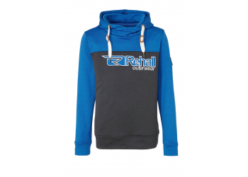 Rehall BRAVE-R Hooded Sweat mens blue Gr. S