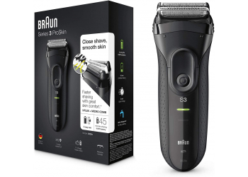 Braun Series 3 3020S Grey/Black Herrenrasierer