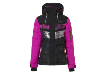 Rehall Karina-R Jr. Snowjacket Girls, Fuchsia, Gr. 116
